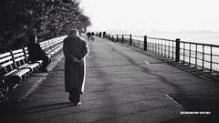Walk by faith, not by sight. (Denn-Ice) Tags: street nyc newyorkcity blackandwhite bw ny newyork blackwhite manhattan streetphotography uploaded:by=flickrmobile flickriosapp:filter=nofilter