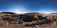 Deep Lake, Washington (Garret Veley) Tags: park panorama washington desert stitched 360x180 potholes dryfalls ptgui equirectangular deeplake canon1740mm canon5dmk2 garretveley topazdetail promotecontrol nodalninjam1l