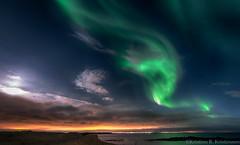 Aurora Borealis (Kristinn R.) Tags: iceland nikon northernlights auroraborealis d3x nikonphotography kristinnr