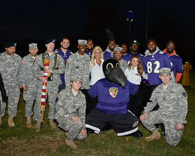 The Ravens and NFL Play 60 visit APG