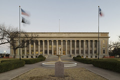 tom green county courthouse (swmoglia) Tags: usa color building brick fountain grass stone architecture dawn us nikon texas exterior tx flag courthouse column nikkor 1928 texasflag d3 neoclassical countybuilding usflag stockphoto sanangelo colorphoto corinthiancolumn stockphotography governmentbuilding architecturalphotography nikkorlens royaltyfree countycourthouse stockimage nationalregisterofhistoricplaces shiftlens nrhp texascourthouse powmiaflag 24mmlens texashistoriclandmark classicalrevival stockphotograph texascountycourthouse sanangelotexas tomgreencounty builtstructure nikond3 tomgreencountycourthouse sanangelocourthouse pce24mmf35ded perspectivecontrollens courthousestockphoto texascountycourthousestockphoto texascourthousestockphoto antonfkorn tomgreencountycourthousestockphoto tomgreencountytexas georgejulienbirdmemorialfountain