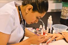 Roohi Mohamad-Anish-Saiyed (WorldSkills UK) Tags: art nail nailart intermediate 2013 skillscompetitions skillsshow intermediatenailart roohimohamadanishsaiyed
