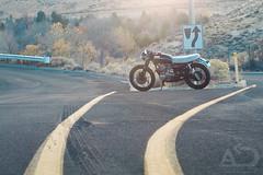 Derek's CB 1 (Automotive Digression) Tags: honda cafe motorcycle 1973 racer cb500