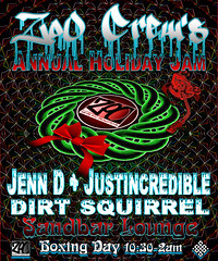 Annual Holiday Jam 2013 (Thought Knots Design) Tags: show life christmas travel music white house canada color colour travelling art colors photoshop poster logo photography freedom design coast frozen concert flyer artwork holidays thought dj colours tour graphic live lounge great north creative boxingday free sandbar tasty manipulation visit pop turntable retro wreath creation future funk rave capebreton create nautical portfolio brand catalogue knots tkd nasty traveler creatively thoughtknots thoughtknotsdesign illucion thoughtnauts thoughtnaut thoughtnautical