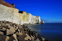 Chalk Cliffs Seaford Sussex (Rob McC) Tags: seascape landscapeseaseafordsussexfilternd400cliffschalkreflections