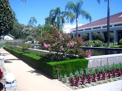 """Garden at the Nixon Library • <a style=""""font-size:0.8em;"""" href=""""http://www.flickr.com/photos/109120354@N07/11047729364/"""" target=""""_blank"""">View on Flickr</a>"""