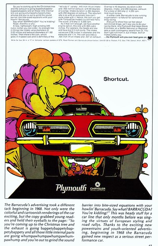 1968 Plymouth Barracuda (cartoon)