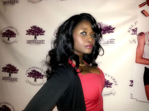Queen Sabine Mondestin at a film event Red Carpet