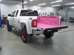Pink Bed Liner