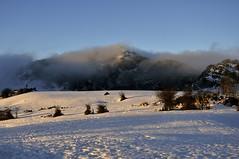 La bruma de Arraba (enekotas) Tags: mountain snow landscape nieve paisaje montaña gorbea gorbeia arraba