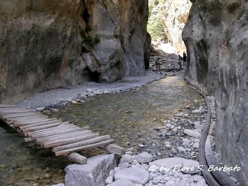 Crete [GR], 2006, Samaria Canyon, Sideroportes.