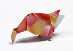 Origami création - Didier Boursin - L'oie
