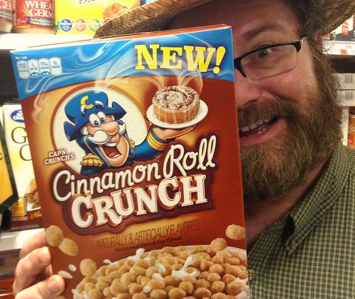 usa kids cinnamon crunch cinnamonroll capncrunch breakfastcereal youtube sweetened jeepersmedia mikemozart thetoychannel cinnamonrollcrunch