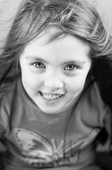 Syrena3 (WuTangBlondie) Tags: blackandwhite cute girl beauty smile studio lights model eyes child pentax blueeyes innocent manual pentaxk5ii