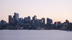 Seattle (swannyyy) Tags: seattle sunset skyline washington