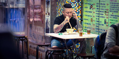 Mong Kok (Wim Storme) Tags: street night hongkong candid cinematic mongkok
