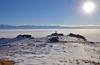 Antelope Island (photo61guy) Tags: winter snow morninglight utah wasatch hiking antelopeisland greatsaltlake snowshoeing wasatchfront winterlandscape platinumheartaward saariysqualitypictures nikond7000 mygearandme mygearandmepremium mygearandmebronze mygearandmesilver mygearandmegold