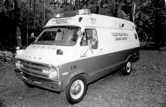 Talleyville Fire Company, Delaware - Ambulance B-25 (1976 Dodge van style) (Timothy Wildey) Tags: ambulance dodge delaware bls ems emt tfc b25 newcastlecounty talleyvillefirecompany station25 talleyvilledelaware