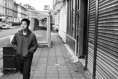 Day #26 (Allan McLellan) Tags: street people blackandwhite canon scotland glasgow 14 streetphotography documentary sigma portraiture 30mm