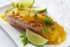 Wolf Eel with Fleurette Sauce, Saffron Pills and Green Lemon (CatalinaLinkava) Tags: fishrecipes healthydinner