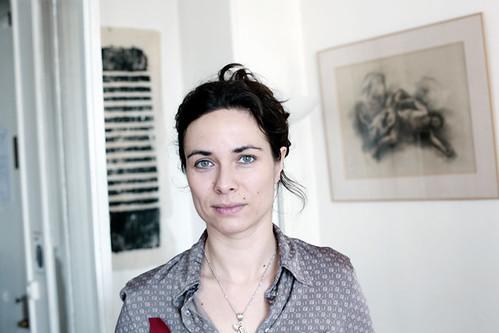 Bérengère Cournut, écrivain en résidence en 2013 © Renaud Monfourny