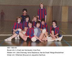 1983 Meisjes B1