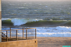 SpringStormSurf (mcshots) Tags: ocean california sea usa storm beach water coast sand surf waves afternoon stock windy spray socal rough breakers mcshots winds swells seas springtime losangelescounty