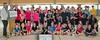 Scheckübergabe an die Badmintonspieler in Bad Frankenhausen