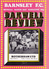 Barnsley vs Rotherham - 1980 - Cover Page (The Sky Strikers) Tags: new review 80s brand barnsley decade rotherham oakwell acceptable