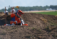 Rounding The Corner (rfpotter) Tags: summer race track helmet sigma motorcycle canon5d dirtbike motocross canoneos5d