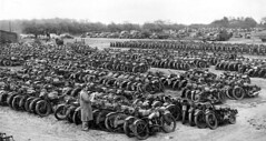"Military motorcycles for sale in 1946 • <a style=""font-size:0.8em;"" href=""http://www.flickr.com/photos/81723459@N04/14227332953/"" target=""_blank"">View on Flickr</a>"