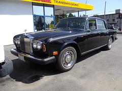 '77-'80 Rolls-Royce Silver Shadow II (Foden Alpha) Tags: britishcolumbia plate rollsroyce ii license mapleridge collector silvershadow b28652