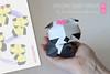 Origami Panda Monday Fun! ...baby Panda Girl :-)