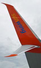 Smartwings (Sunwing Airlines) - C-FLSW Scimitar Winglet - London Gatwick (EGKK/LGW) (Andrew_Simpson) Tags: uk canada plane airplane sussex czech westsussex unitedkingdom aircraft canadian aeroplane apron gb czechrepublic boeing winglet gatwick 737 winglets scimitar lgw 737800 gatwickairport greatbritian sunwing londongatwick airside egkk smartwings londongatwickairport sunwingairlines cflsw scimitarwinglet scimitarwinglets