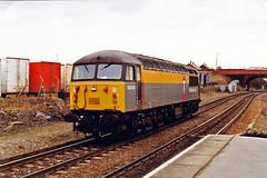 56049 (marcus.45111) Tags: train grid diesel railway 1997 britishrail lightengine knottingley wesyyorkshire ukbuilt 56049 dutchtransrail