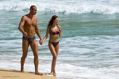 Couple at Phuket beach