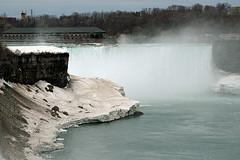 Niagara Falls - Horseshoe Falls (MickiP65) Tags: usa newyork canada water river niagarafalls spring tour web niagara falls april northamerica attraction allrightsreserved horseshoefalls 2014 niagarariver canon30d tourisim michellepearson websized img3080 042514 04252014 apr252014
