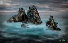 Camel Rock (Kiall Frost) Tags: ocean sunset water clouds nikon focus rocks bermagui camelrock kiallfrost d800e