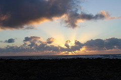SUNSET (TruckerPat) Tags: sunset clouds fuerteventura seasky