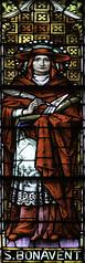 St Bonaventure (Lawrence OP) Tags: window saint cathedral cardinal basilica stainedglass bishop bonaventure franciscan covington doctorofthechurch