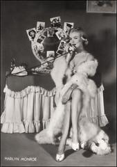 MARILYN MONROE POSTCARD (Harald Haefker) Tags: marilyn vintage star photo baker post jean marilynmonroe postcard icon retro nostalgia card 1950s monroe norma legend jeane postkarte ikone legende normajeane dougerthy