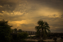 Storm Coming (Matiur Rahman Minar) Tags: storm cloud bridge coxsbazar minar09 river bakkhali