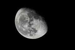 Moon on day 18 (luxaeternum) Tags: a6000 zeiss tokina atx moon night nature