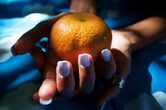 IMG_4991 (kdwayne321) Tags: orange nails hands outdoor picnic couple
