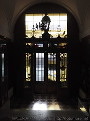 The Gate to Palace of Art in Cracov, Poland (fotomuse2014) Tags: gate art palace krakow cracov poland