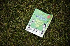 Left on Hackney Marsh! (I M Roberts) Tags: book discarded diaryofawimpykid jeffkinney hackneymarsh lost fujix100s