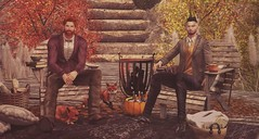 Have a Little Sip of Fall. (Divos Titanium) Tags: ascend cheerno deadwool dustbunny dutchie fameshed haikei jian junk no revival themensdepartment whatnext fall secondlife coldash burley scars mensonlymonthly
