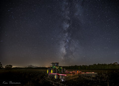 On The Farm.... (Ken Thomann Photography) Tags: quiet tranquil wideangle weather explore evening reallyrightstuff trees unitedstates outdoor outinnature photography astrophotography stars deepsouth darksky fun gorgeous kenthomannphotography landscape longexposure canon1635mmf28lii canon6d canon nature nightphotography nightscapes nightsky night mississippi