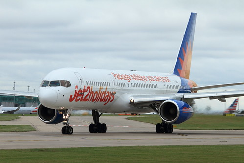 Jet2 Holidays Boeing 757 G-LSAC