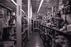 Peterson's Hardware (mattheuxphoto) Tags: petersonshardware lemont lemontillinois hardwarestore closing historic junkstore olympusom4 om4 om50mm 50mm kodak kodaktrix trix